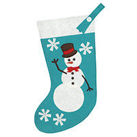 FROSTY FRIEND STOCKING