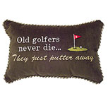 Old golfers never die... They just putter away