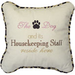 The Dog and its Housekeeping Staff reside here