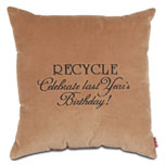 Recycle Celebrate last year's birthday!