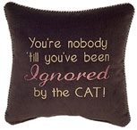 You're nobody 'til you've been ignored by the cat!