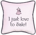 I just love to sale!