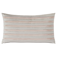 MADDOX DOUBLE PLEAT DECORATIVE PILLOW