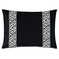 MADDOX ABSTRACT BORDER DECORATIVE PILLOW