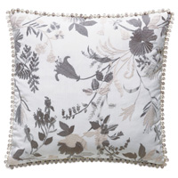 Naomi Floral Accent Pillow In Lilac