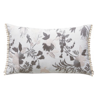 Naomi Beaded Accent Pillow in Lilac