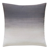 Naomi Ombre Hand Painted Accent Pillow in Purple