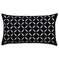 Breeze Black grid oblong