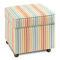 PARADISE SUNRISE STORAGE BOXED OTTOMAN