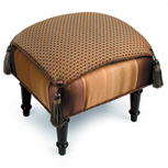 DEVINA BRONZE PILLOW TOP STOOL