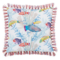 Paloma Brush Fringe Decorative Pillow