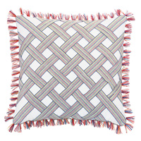 Paloma Trim-Applique Pillow