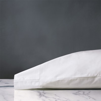 Gianna Classic White Pillowcase