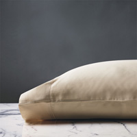 DELUCA ALMOND PILLOWCASE