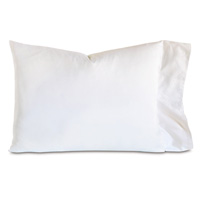 ISOLA WHITE PILLOWCASE