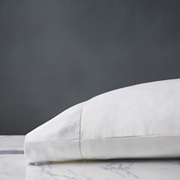 MILLEFLEUR WHITE PILLOWCASE