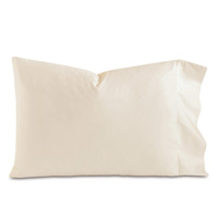 FRESCO LUXE ECRU PILLOWCASE