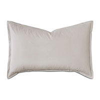 Vail Percale Queen Sham in Bisque