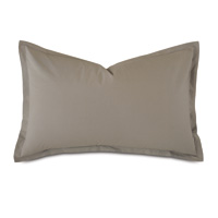 Vail Percale Queen Sham in Fawn
