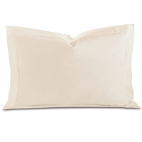 FRESCO LUXE ECRU QUEEN SHAM