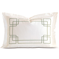 Grafico Ivory/Aloe Queen Sham