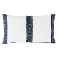 Saya Woven Tape Decorative Pillow