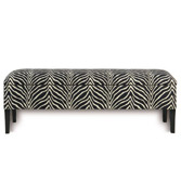 Nairobi Midnight Frankfort Bench