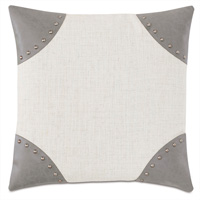 Safford Nailhead Decorative Pillow