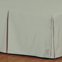 FRESCO CLASSIC ALOE PLEATED BED SKIRT