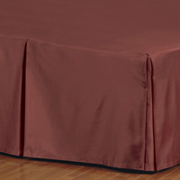 FRESCO CLASSIC SHIRAZ PLEATED BED SKIRT