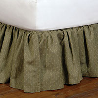 QUENTIN OLIVE SKIRT
