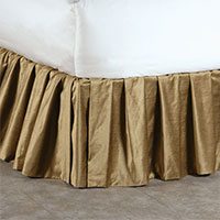 LUCERNE GOLD SKIRT RUFFLED