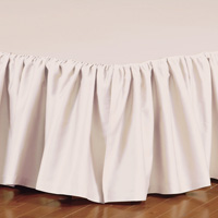 FRESCO CLASSIC NECTAR RUFFLED BED SKIRT