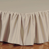 Fresco Classic Sable Ruffled Bed Skirt