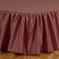 FRESCO CLASSIC SHIRAZ RUFFLED BED SKIRT
