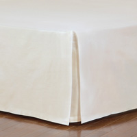 Fresco Classic Ecru Straight Bed Skirt