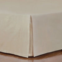 FRESCO CLASSIC SABLE STRAIGHT BED SKIRT