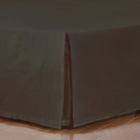 FRESCO CLASSIC WALNUT STRAIGHT BED SKIRT