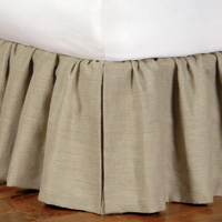 RUSTIQUE MOSS SKIRT RUFFLED
