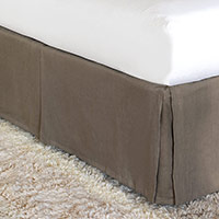 BREEZE CLAY BED SKIRT (CK)