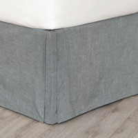Duvall Slate Bed Skirt