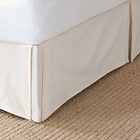 Gretal Cream Bed Skirt