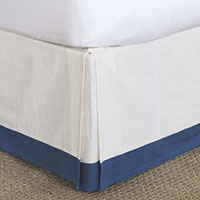 Filly White Bed Skirt