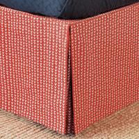 ZIGGY TOMATO BED SKIRT FULL