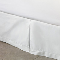 Gianna Classic White Pleated Skirt Panels
