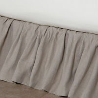 LEONARA NATURAL RUFFLED SKIRT PANELS