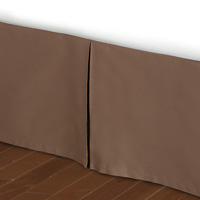 DELUCA TOFFEE PANELS PLEATED