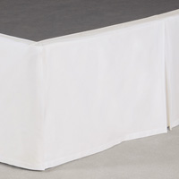 Fresco Classic White Pleated Skirt Panels