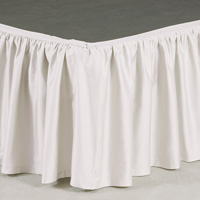 FRESCO CLASSIC WHITE RUFFLED SKIRT PANELS