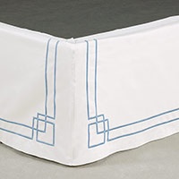 GRAFICO WHITE/AZURE SKIRT PANELS